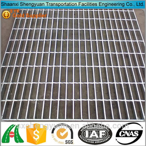 concrete drainage flat bar serrated floor trap grating