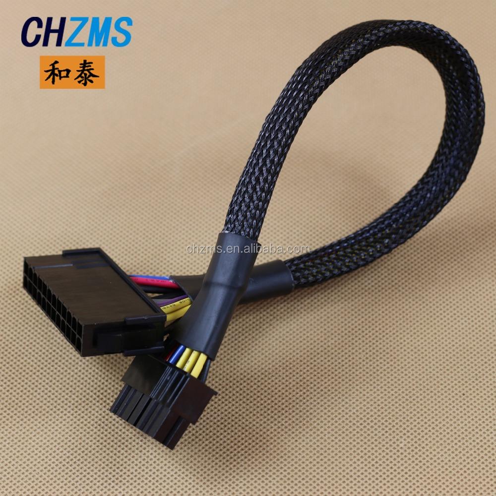 Netzteil Atx 24 Pin Buchse Auf 12 Pin Stecker Stromversorgung ...