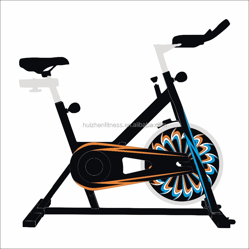 piece of art design spin bike exercise purpose body slim training fitness equipment