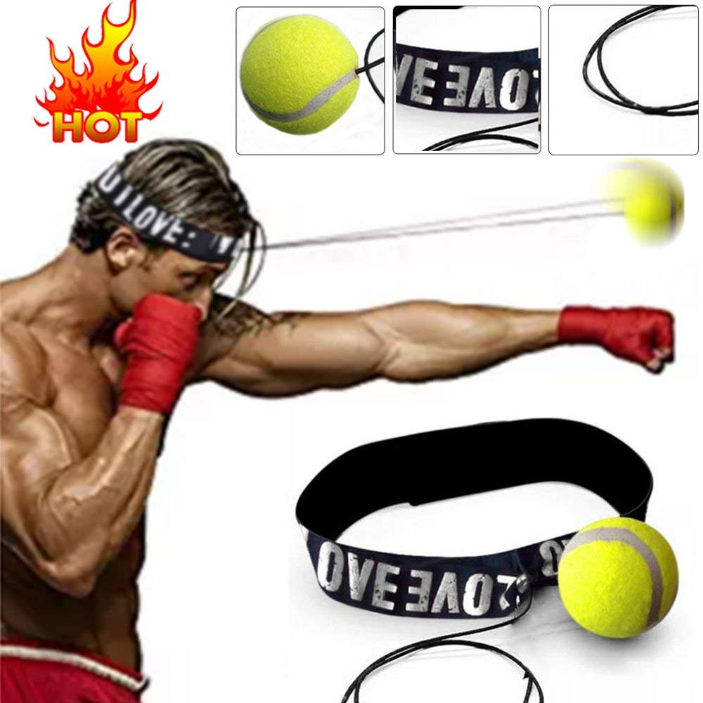 WESDOO Boxing Ball Boxing Training Ball Reflex Ball For Kids Boxing Fight Ball Reflex Reflex Ball Headband Boxing Training Boxing Accessories