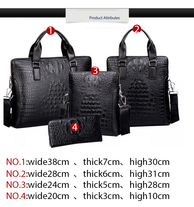 d0005e2ba4dc Men Bag 100% Genuine Leather Bag 2017 New Famous Brands High Quality ...