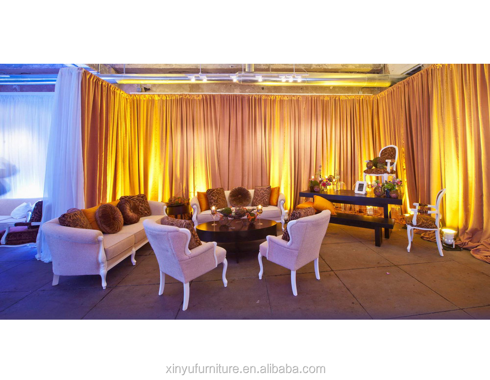 white lounge wedding furnitures XY0326