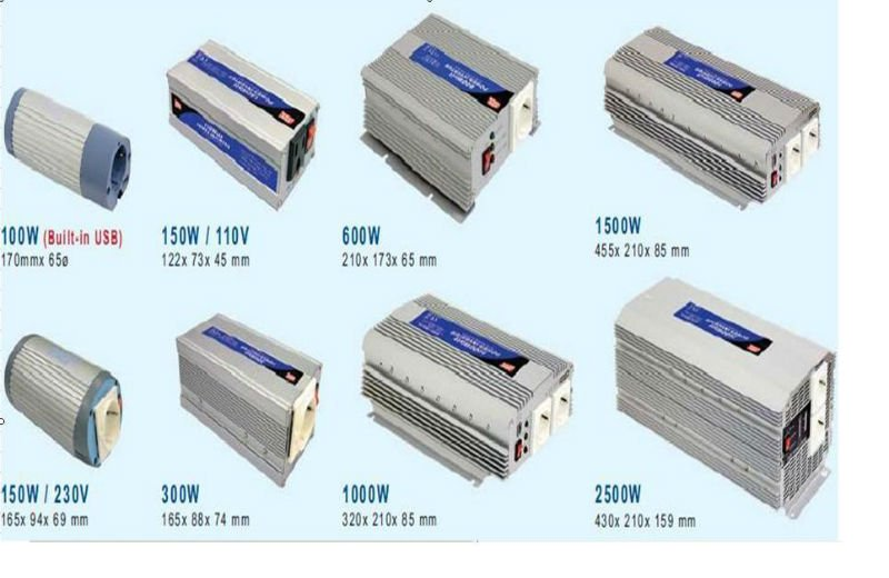 MEAN WELL 100~2500W DC/AC Inverter