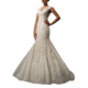 cap sleeve v-neck turkish wedding dresses trumpet bridal gowns modern designer mermaid wedding dresses 2018