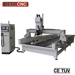 4 axis ATC cnc router milling machine automatic machining precision parts engraving cutting for plastic