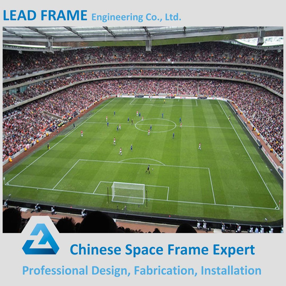high standard free design space frame metal roofing sport hall
