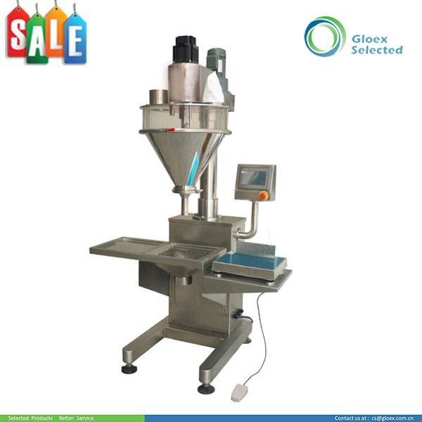 Semi-automatic easy operation safety portable powder auger filler machine