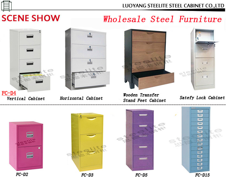 Luoyang Sale Office Steel Furniture 5 Drawer Cabinet Chinese ...