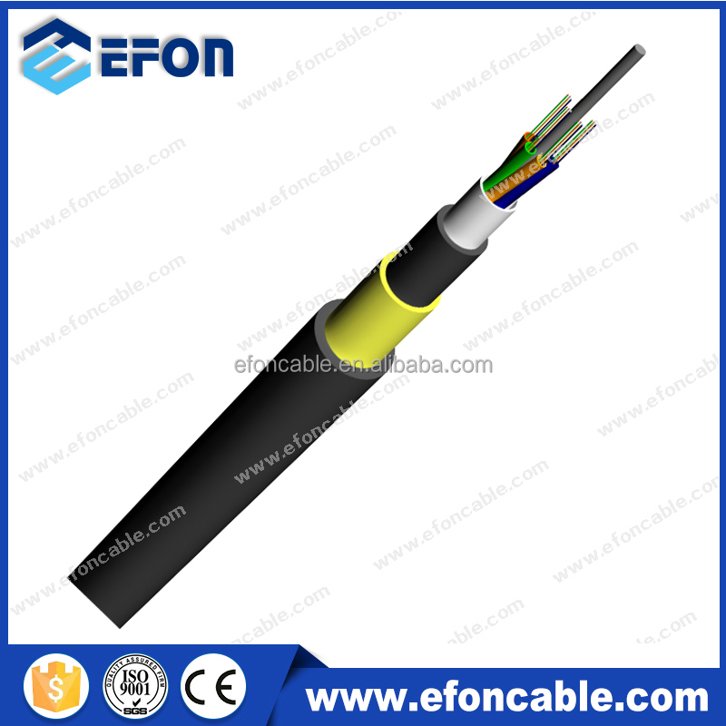 All Dielectric Self Supporting 300m span aerial beijing ADSS laser optical fiber cable