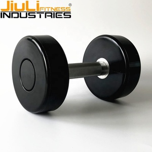 hot selling CPU urethane PU commercial wholesale gym Dumbbell with custom logo