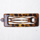 factory directly wholesale tortoiseshell metal alligator hair clip pin