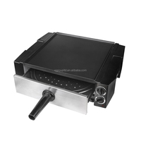 Multi-function Griddle XJ-12205 with Skewers Hand-rotated 2018