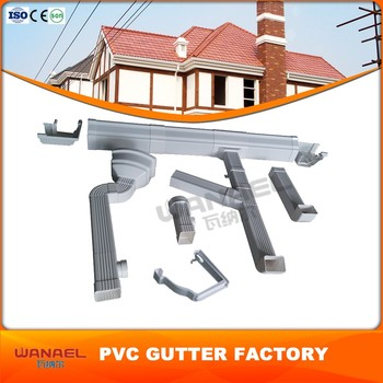 Wanael Square 5 2k Pvc Roof Gutter Philippines Buy Roof
