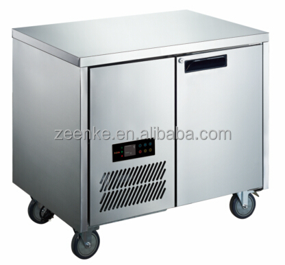 Horizontal commercial used refrigerators with GN cabinet For Hotel/Restaurant