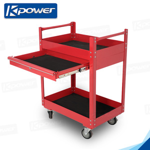 26 Inch Tool Cabinet Mobile Hand Trolley On Wheels