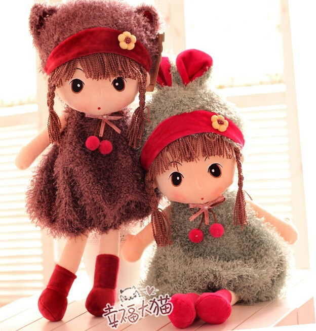 Wholesale Philippines Son Doll Large Cute Girl Plush Toy Children
