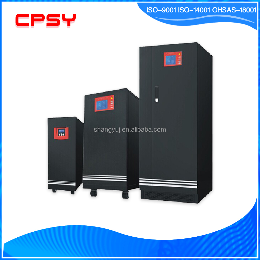 Low frequency pure sine wave online 10kva single phase UPS networking application with short circuit protection Shangyu Shenzhen