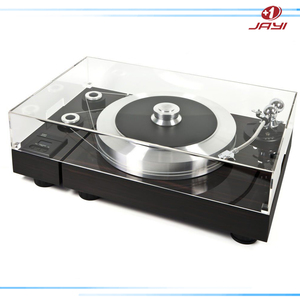 Turntable clear plastic acrylic dust cover