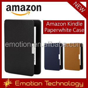 Amazon Kindle Paperwhite Case Protective Genuine Leather Cover with Auto Wake/Sleep for Amazon Kindle Paperwhite