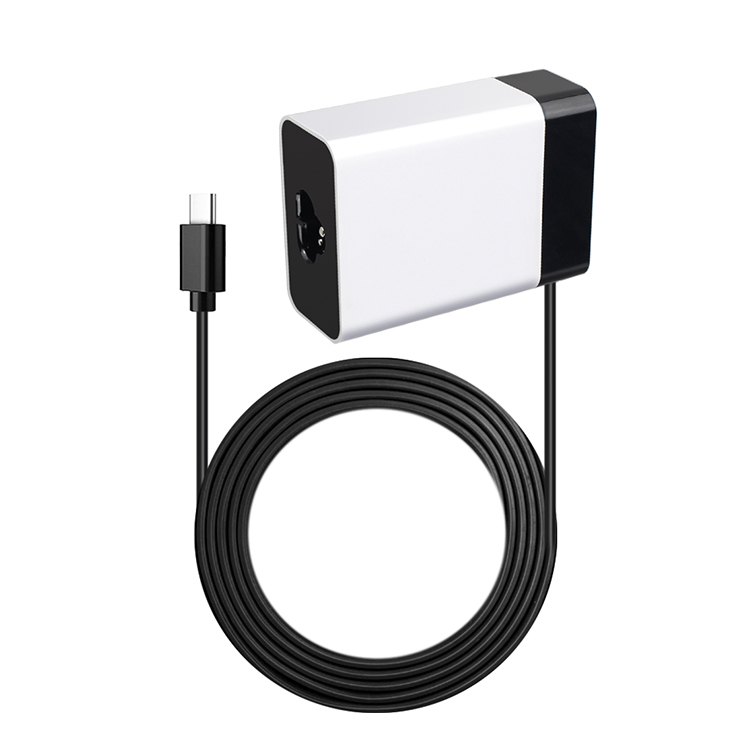PSU AC IEC C6 socket to DC 5V  9V 12V 3A15V 2.6A 20V 2.25A USB C PD Wall Charger 45W Power Delivery USB-C Power Adapter