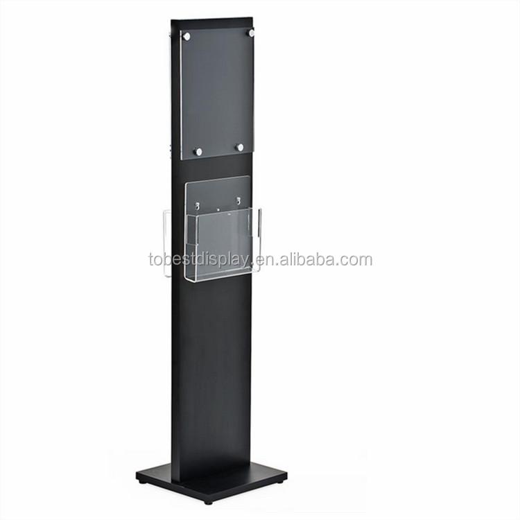 Wholesale Brochure Holder Floor Stand Free Standing Holder