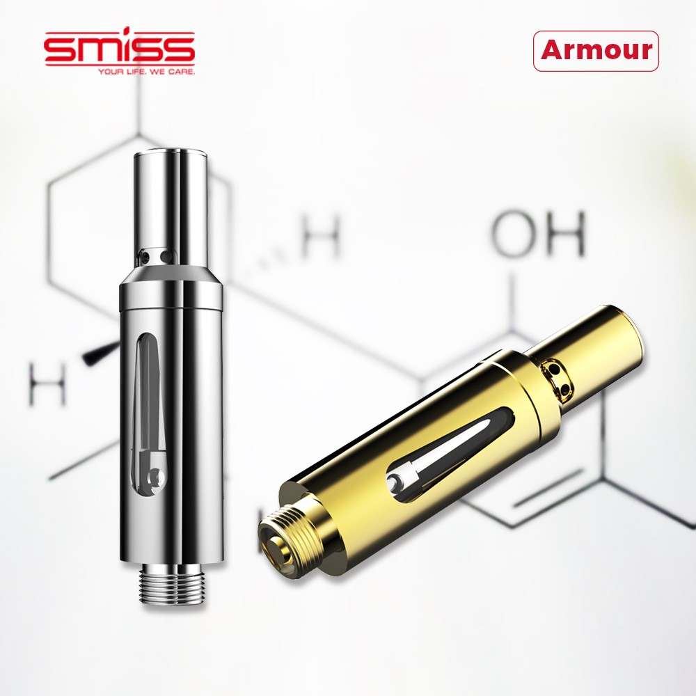 2017 trending products ceramic coil glass tube 510 atomizer disposable 0.5ml vape cartridge