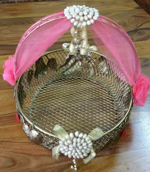 decorative baskets for wedding wedding favor basket designer wedding basket decorative 3445