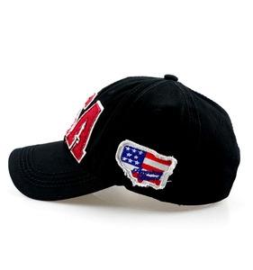 6e67fa1076d Applique Frayed Baseball Cap
