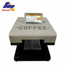 Food Grade Latte Art Koffie Printer/Eetbare Cake Printing Machine/Digitale Koffie Print Machine