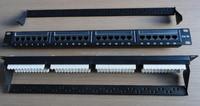 Cheap wholesale UTP RJ45 24 port cat 6 patch panel