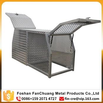 metal dog box