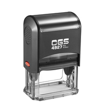 CGS 4927 Self inking stamp/shiny self ink stamp