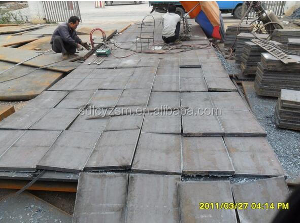 steel fence post base plate