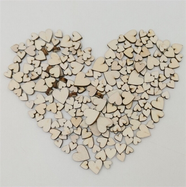 Blank unfinished wooden heart crafts supplies laser cut rustic <strong>wood</strong> wedding rings ornaments100pcs/bag