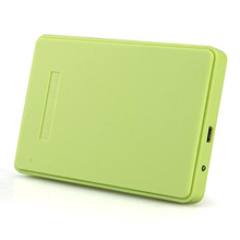new Green External Hard Drive Enclosure Usb 2.0 Sata 2.5″ Inch Durable Portable Case Hdd Support 2TB Hard Drive