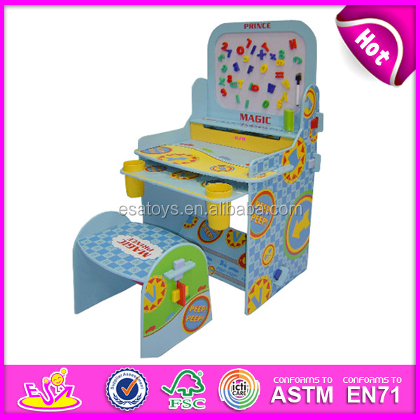 2015 New Design Kids Furniture,Cheap Study Play Table And Chairs,High  Quality Wooden