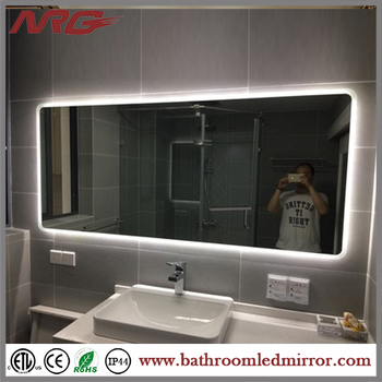 Marvelous Hollywood Style Modern Bathroom Mirror With Lights