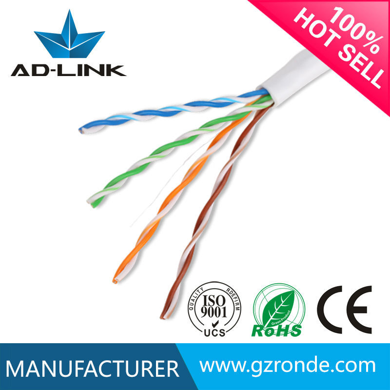 UTP cat 5e cables from Chinese professional network cable factory Guangzhou Ronde