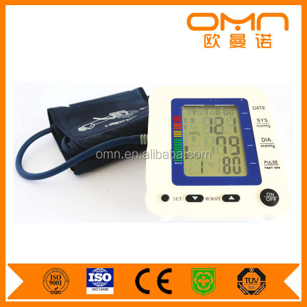 Voice Talking Arm Cuff Blood Pressure Meter Digital Tonometer Blood Pressure Measure Machine for Home Hospital