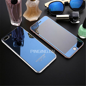 new style d9261 5e695 Colorful Front+back Mirror Surface Plating Glass For Iphone 7 Plus Screen  Protector Glass,3d For Iphone 7 Plus Tempered Glass - Buy For Iphone 7 Plus  ...