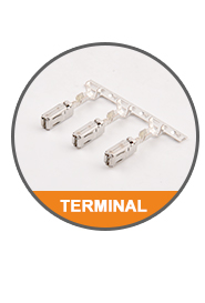 Automotive electrical 커넥터 harness clip 액세서리 backshell 1670365-1 PA66 차 선 connectors
