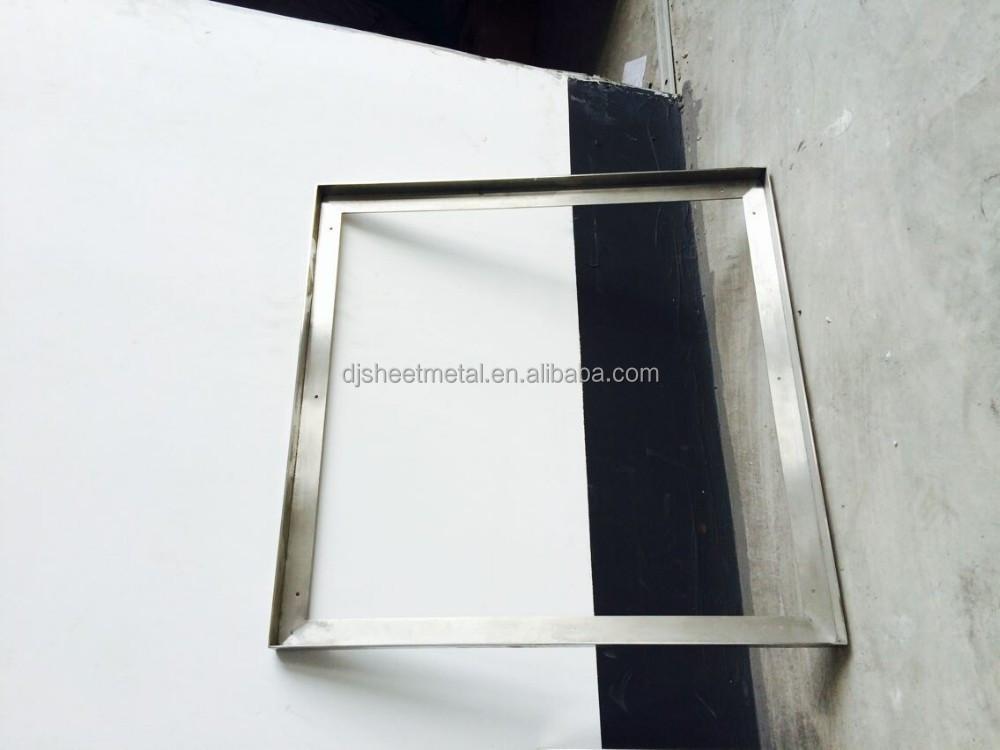dekorative spiegelrahmen mit messing verarbeitung und edelstahl bilderrahmen herstellung. Black Bedroom Furniture Sets. Home Design Ideas