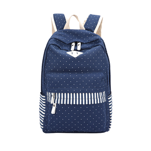New model school bag backpack with custom logo school bag made in Guangzhou