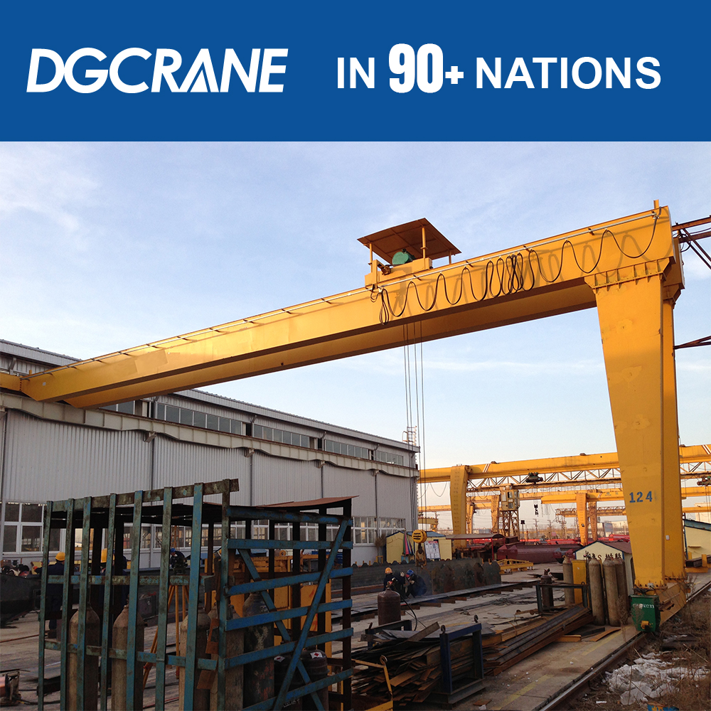 High Efficient Construction 40Ton Used Gantry Crane Price Question For Sale In China