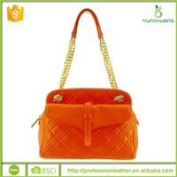 Ohraina Quilted Shoulder Bag Embossed Purse Large