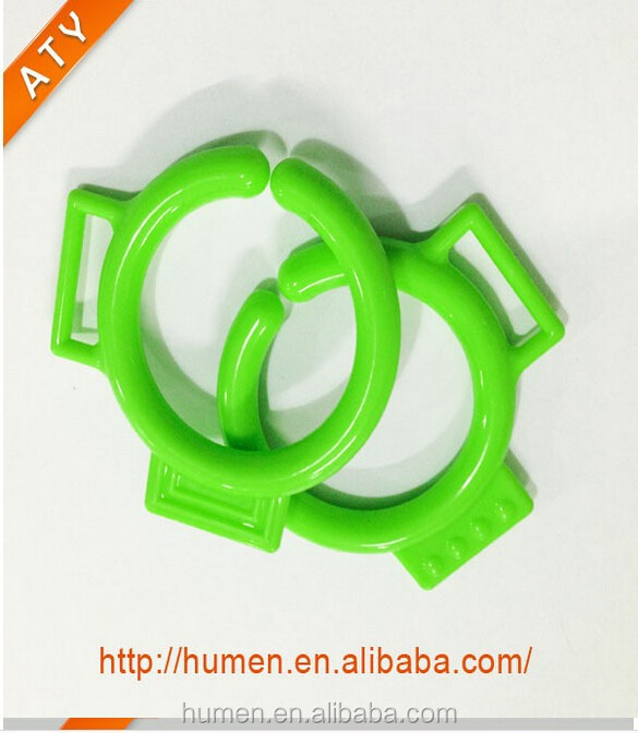 colorful round plastic ring for baby toy and book