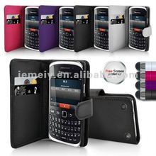 Solid color for BlackBerry 9320 Leather Case