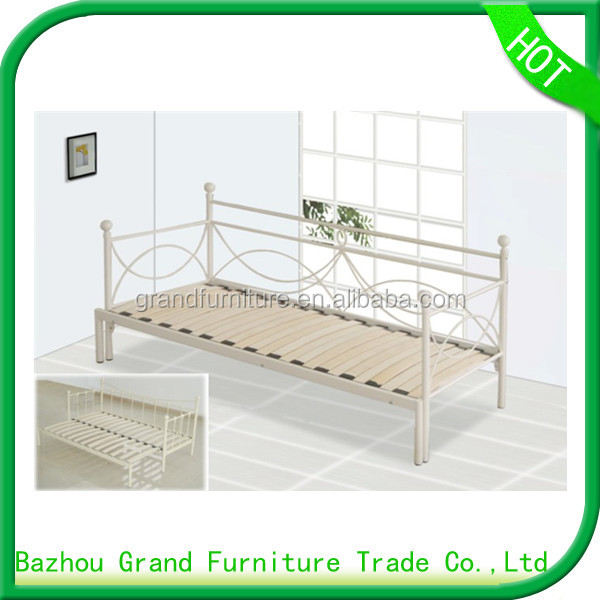 Cheap Single Home Folding Metal Futon Day Bed