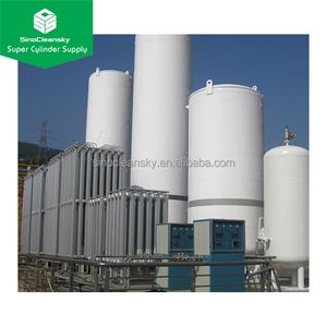 ASME Liquid Oxygen Tank 3m3 5m3 10m3 20m3 50m3 100m3 for Cryogenic Tank