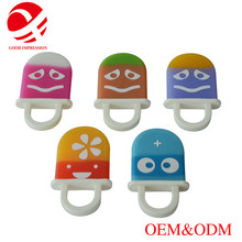 Eco-friendly food grade baby toy silicone teether